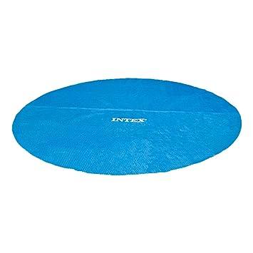 Intex 29023 - Cobertor solar para piscinas de 457 cm de diámetro: Amazon.es: Jardín