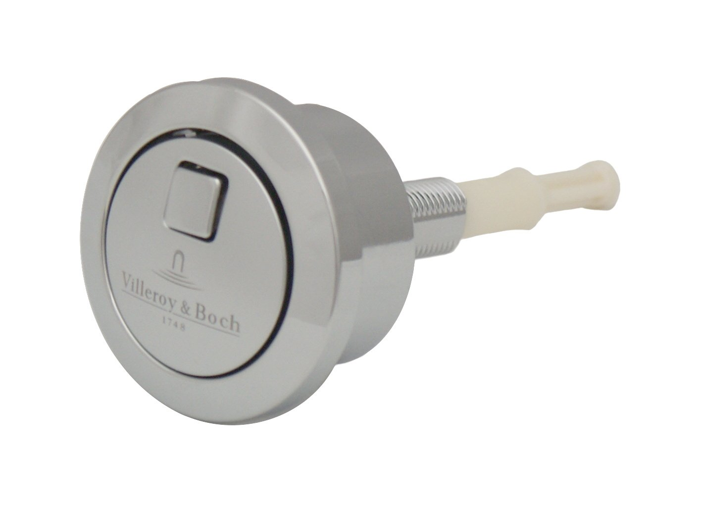 Villeroy & Boch Dual Flushing Push Button Chrome 92180961