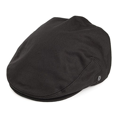 Jaxon Cotton Ivy Cap (Large, Black)