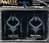 Ultra Pro (80 Count) M13 Black Deck Protector Sleeves - Magic the Gathering