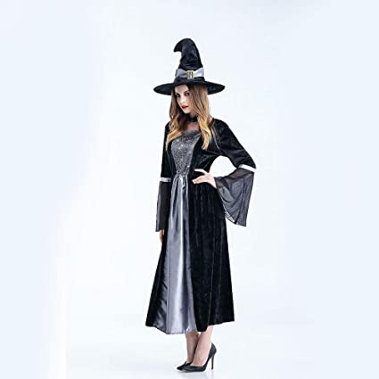 Los Niños Brujas Halloween Traje De Cosplay Túnica con ...
