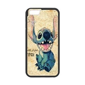 "Lilo and Stitch Black Hard Case For Apple Iphone 6,5.5"" screen Cases TPUKO-Q804311"