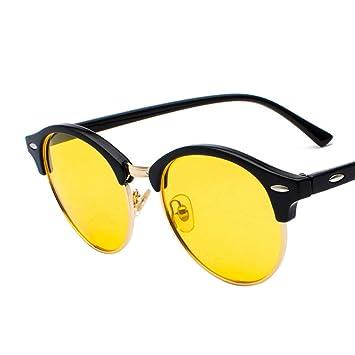 AAMOUSE Gafas de Sol de Espejo polarizadas Mujeres Hombres ...