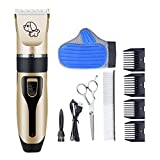 RIRGI Dog Clippers Cat Shaver, Clippers Detachable Blades...