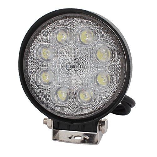 eDealMax 24W DC 9V-30V 8 Ampoule LED Spotlight Lampe de Travail Pour l'clairage Salle de Cuisine