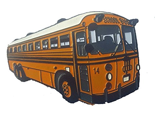 Crown Coach School Bus Lapel (School Bus Pins)