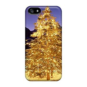 New Arrival Christmas Trees In A Winter Valley For Iphone 5/5s Case Cover