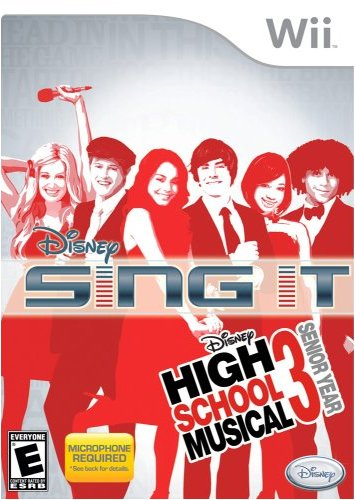 Wii Disney High School Musical 3 Senior Year Sing It - Microphone Required - Hannah Montana The Movie Wii