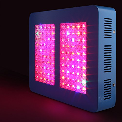 51VQk3ko5PL - Sandalwood 300W Dual Mode LED Grow Light for Hydroponic Garden and Greenhouse Use - Dual Grow / Bloom Spectrum