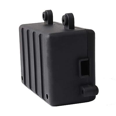 Firiodr Replacement for 1/10 RC Rock Crawler D90 Receiver Box RC Car Radio Box Decoration Tool Plastic ESC: Computers & Accessories [5Bkhe0303474]