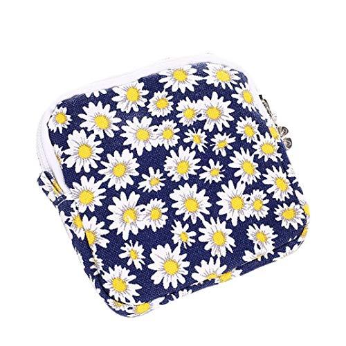 Convenience Sanitary Towel Blue Yellow Women Kanpola Organizer Bags Napkin Holder Girl Pad Cute qCAAZfnzw