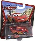 Disney/Pixar Cars 2, Lightning McQueen with Racing Wheels Die-Cast Vehicle #3
