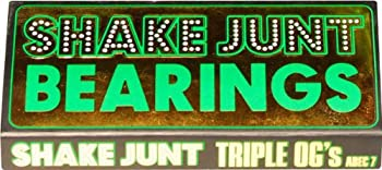 SHAKEJUNT TRIPLE OG'S A-7 SKATE BEARINGS single set