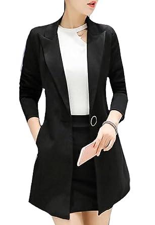 59b05baa73b SportsX Womens Original Fit Maxi and Midi Plus Size Business Suit Black L