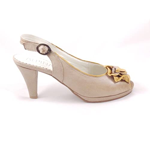Zapatos beige Alpina para mujer LSh7r4z