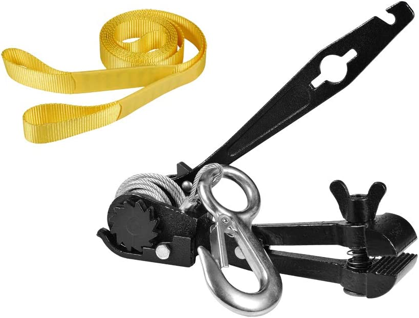 Amazon Com Ctsc Zipline Tensioning Kit Zipline Installation Kits For Backyard With Mini Ratchet With Winch Cable Grip For 3 16 To 1 2 Lines Protective Tree Sling Ultimate Zip Lines Tensioner