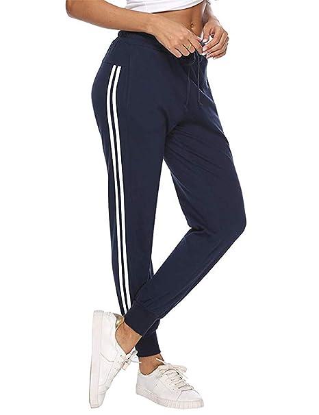 Jogginghose Freizeithose Damen Trainingshose Fitness Hose Freizeit S-XXL  NEU