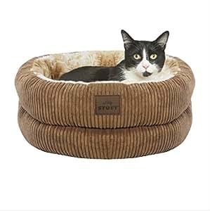 Amazon.com : STUFT Hide Away Premium Plush Cat Bed : Pet