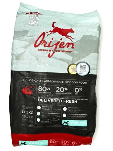 Orijen 6-Fish Grain-Free Dry Dog Food, 29.7lb, My Pet Supplies