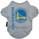 NBA Golden State Warriors Pet T-Shirt, Team Color, Small