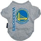 NBA Golden State Warriors Pet T-Shirt, Team Color, Small