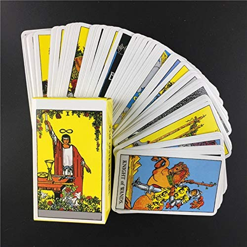 LSXX Great Replacement The Rider-Waite Tarot Deck Cards with PDF Guidebook Childs Gift for Beginners