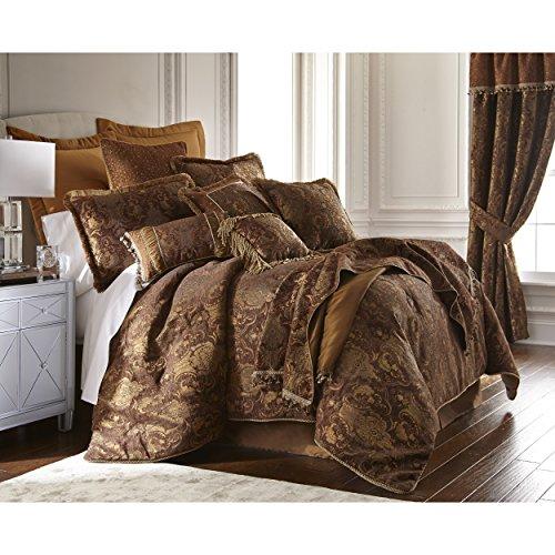 Sherry Kline Pattern - Sherry Kline China Art Brown Cal King-size 6-piece Comforter Set