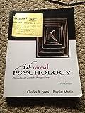 Abnormal Psychology, , 1618826379