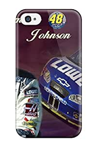 Protective PC Case With Fashion Design For Iphone 4/4s (jimmie Johnson)