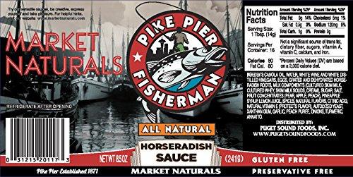 Pike Pier Fisherman Original Horseradish Sauce