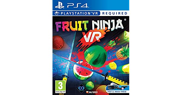 Fruit Ninja (PSVR/PS4) [Importación inglesa]: Amazon.es ...