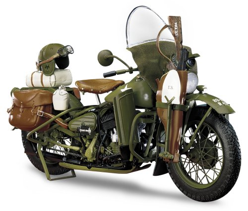 1942 Mint (The Franklin Mint the 1942 Harley Davidson WLA Military Motorcycle in Green)
