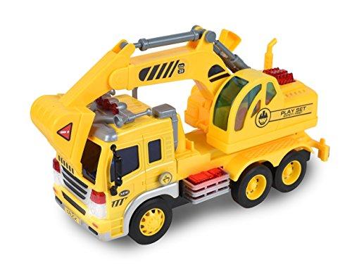Maxx Trucks (Maxx Action Construction Excavator Toy Truck)