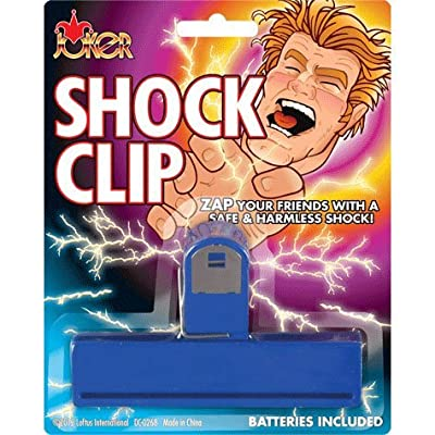 Shock Clip Shocking and Exploding Prank (1 per package): Toys & Games