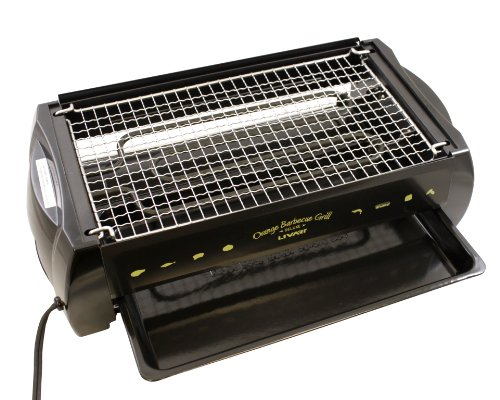 Livart Orange BBQ Deluxe Electric Barbecue Grill by Livart (Image #2)
