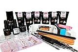 Taylor P. Poly Gel UV LED Curable Full Kit (Full Kit All 4 Colors)