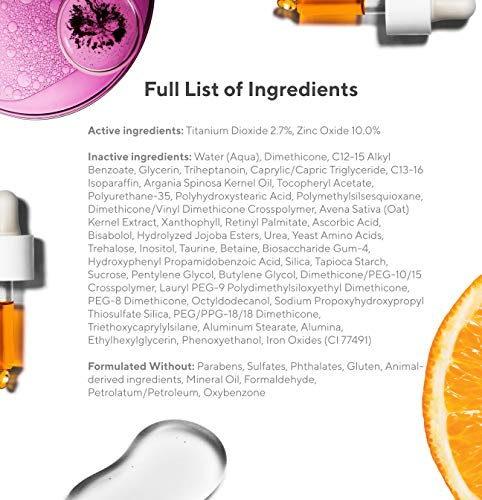 Murad Environmental Shield City Skin Age Defense Broad Spectrum SPF 50-100% Mineral Sunscreen – Blue Light Defense – SPF…