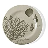 Product review for tag - Beachcomber Bamboo Melamine Dinner Plate, Durable, BPA-Free and Great for Outdoor or Casual Meals, Sand (Set Of 4)