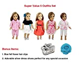 Bags Under Eyes 18 Years Old Weardoll 5 Outfits, Shoes and Accessories for American Girl Doll and 18-Inch Dolls