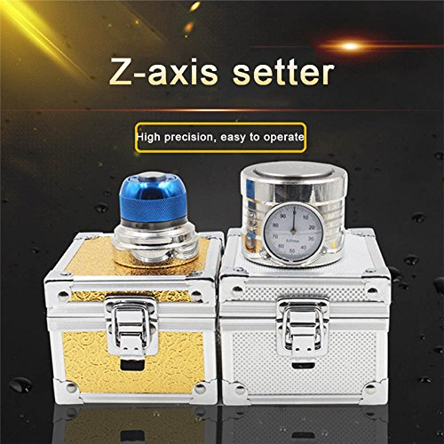 Tool Setter, YUIOP Z AxisPre-setter Tool Photoelectric Setter,Zero Setting Gauge for CNC Router,50±0.005mm Photoelectric, Setter Precision 0.0002 Inch For CNC Machine