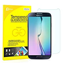 S4 Screen Protector, JETech Premium Tempered Glass Screen Protector for Samsung Galaxy S4 Galaxy S IV Galaxy SIV i9500 - 0820