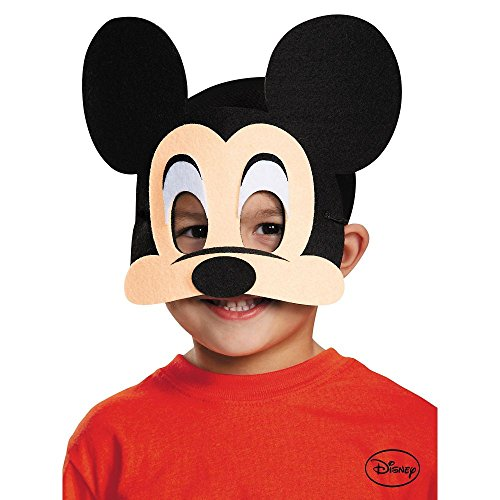 Tiger Deluxe Mask (Disguise Costumes Mickey Mouse Felt Mask,)