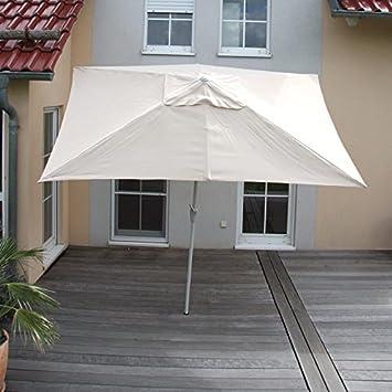 Amazon De Mendler Sonnenschirm N23 Gartenschirm 2x3m Rechteckig