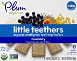 Plum Organics Little Teethers, Blueberry, 0.52 Ounce, 6 Count