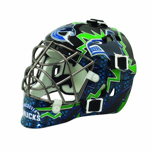 fan products of Franklin Sports NHL League Logo Vancouver Canucks Mini Goalie Mask