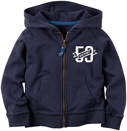 (Carter's Baby Boys' Track Hoodie - Navy - 3 Months)
