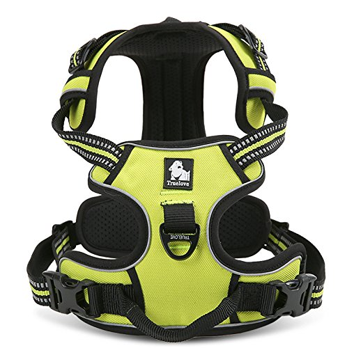 EXPAWLORER Best Front Range No-Pull Dog Harness. 3M Reflective Outdoor Adventure Pet Vest with Handle. 3 Stylish Colors and 5 Sizes.