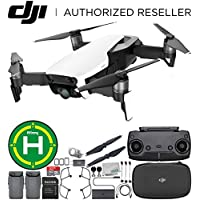 DJI Mavic Air Drone Quadcopter (Arctic White) Landing Pad Essential Bundle