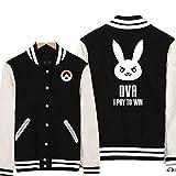 TISEA Unisex Couples Baseball Bunny Cosplay Sweatshirt Costume (M, DVA)