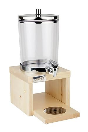 Dispensador de zumo de APS GL628 madera Base, arce